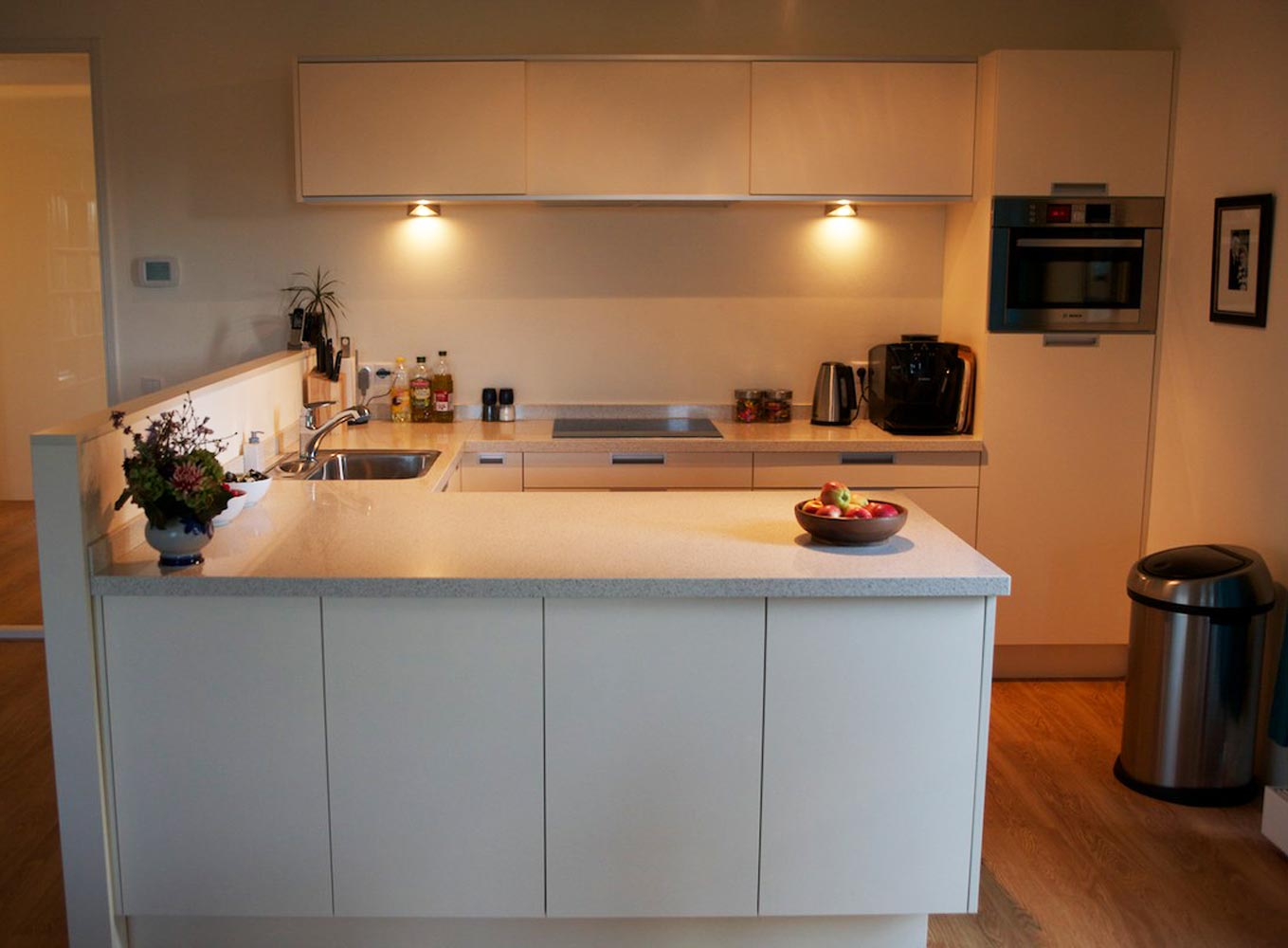 Keuken idee opbergen - Bar design keuken ...
